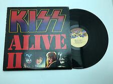 KISS Alive II 2 Vinyl LP Records Old School Sound Music