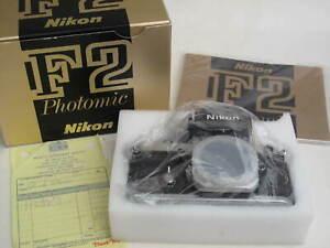 "Nikon F2 Photomic body with IB, original receipt, MINT IN BOX, US SELLER ""LQQK"""