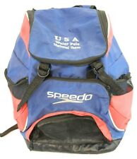 USA US National Team USA Men's Olympic Water Polo Backpack speedo America