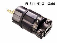 Furutech FI-E11-N1-G FI-E11-N1 G Schukostecker Netzstecker Gold