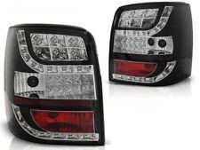 NEW SET REAR TAIL LIGHTS RHT LDVW85 VW PASSAT 3BG 00-04 VARIANT BLACK LED INDIC.