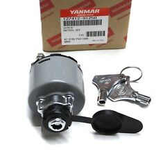 Yanmar marine ignition switch - 3JH 4JH LA CX - for B-Type panel - 127412-91250