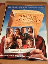 RUNNING WITH SCISSORS - MOVIE POSTER 27 X 40 B2 USED