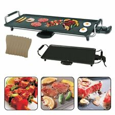 Teppanyaki Grill Hotplate Griddle BBQ Electric Table Home Outdoor 2000w New