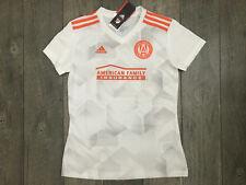 Adidas Atlanta United FC Soccer Jersey Womens Size Small White Gray NWT