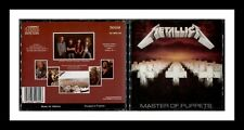METALLICA MASTER OF PUPPETS 1986 MUSIC FOR NATIONS MEGADETH ANTHRAX TESTAMENT