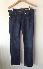 7 for ALL MANKIND Straight Leg Jeans 29 Denim