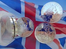 2014 UK Britannia Year of the Horse privy coin .999 fine silver