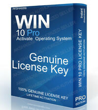 WIN 10 PRO GENUINE LIFETIME ACTIVATION LICENSE KEY CODE 32/64-BIT INSTANT