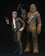 ARTFX+ Star Wars The Force Awakens Han Solo and Chewbacca 1/10 Kotobukiya