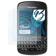 Bruni 2x Protective Film for Blackberry Q10 Screen Protector Screen Protection