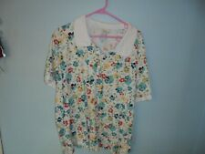 Croft and Barrow womens floral 3x blouse, blouse, casual dress blouse