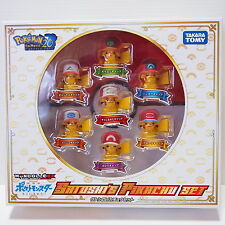 I Choose You! Pikachu Tomy Figure Pokemon The Movie 20th Monster Collection