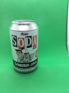 Funko Vinyl Soda Samurai Jack 1/10,000 Sealed-Chance Of A Chase Soda Figure