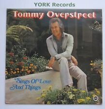 TOMMY OVERSTREET - Sings Of Love & Things - Ex Con LP Record Ember NR 5081