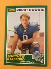 MATHEW STAFFORD 2005 SCORE Rookie Card #1 NM/M Condition Detroit Lions