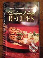 Better Homes and Gardens - Chicken Fish Recipes - Spiral Cookbook