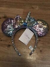 Disney Rainbow Unicorn Sparkle Headband Nwt