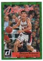 2015-16 Donruss Elite Hall Dominator /999 #8 Drazen Petrovic Blazers