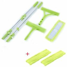 175 cm Telescopic High-rise Cleaning Glass Sponge Mop Cleaner Brush for Washing