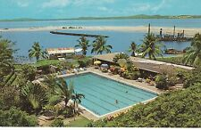"Cartagena, Columbia ""Hotel Caribe Swimming Pool"" Postcard  *FREE U.S. Shipping"""