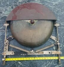 Vintage Henschel Corp. Brass U.S. Navy Ship's Alarm Bell Tug Early Huge 17""