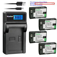 Kastar Battery LCD Charger for Canon LP-E6 LC-E6 & Canon EOS 7D SV Canon Grip