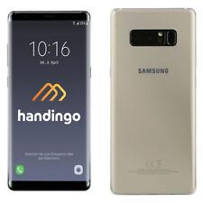 Samsung Galaxy Note 8 Duos N950FD Dual-Sim Smartphone 64GB Maple Gold Wie Neu