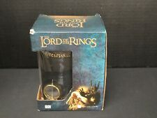Lord of the Rings 3D Rotating Ring Black Crystal Stein