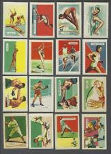 1945 Kellogg's All Wheat General Interest 1st Series Cards Complete Set of 150