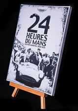 LE MANS 1959 ASTON MARTIN STRETCHED AND FRAMED CANVAS