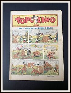 ⭐ TOPOLINO GIORNALE # 141 - Mondadori Disney - 1935 - DISNEYANA.IT ⭐