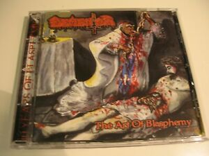 DEMENTOR The Art Of Blasphemy CD 1999 Limited NEW Belphegor Krabathor Diabolic