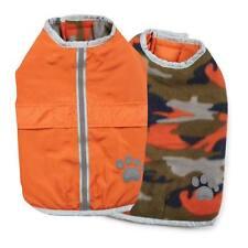 Noreaster Warm Reversible Water-Resistant Reflective Dog Jacket Rain Coat