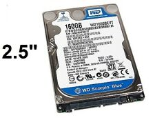 "NEW 160G 8MB WD1600BEVT SATA 2.5"" Hard Drive Western HDD 5400 disk 160 removable"