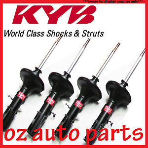 FRONT & REAR KYB SHOCK ABSORBERS FOR TOYOTA AURION SEDAN 10/2006-3/2012