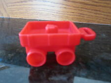 Fisher Price Little People xmas birthday present gift toy red wagon farm city