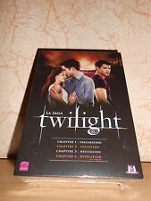 coffret 4 DVD TWILIGHT chapitres 1 à 4 - sous blister