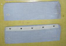 Ancienne manchette bleu de chemise ancienne, linge ancien, vieux vêtement