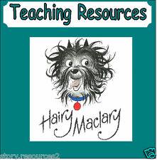 HAIRY MACLARY  DONALDSON'S DAIRY STORY TEACHING RESOURCE KS1 EYFS resource sack