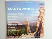 Mantovani Great Theme Music LP Stereo London Vinyl  Record 33 rpm 1961 release