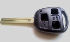 for Lexus 3 button remote key fob case & blade 45mm TOY40 (363)