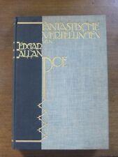 FANTASTIC TALES by Edgar Allan Poe - Dutch- ART-DECO lithograph plates - horror