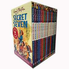 Enid Blyton Secret Seven Series 16 Books Collection Box Set Children Gift NEW