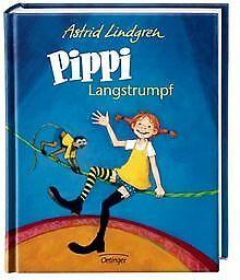 Pippi Langstrumpf (farbig) von Astrid Lindgren | Buch | Zustand gut