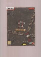 Rarissime !!! WARHAMMER DAWN OF WAR RETRIBUTION Edition Collector : Mythique PC