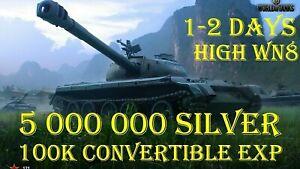 World Of Tanks l 5 MLN CREDITS l 100 000 XP l 1-2 DAYS l NOT BONUS CODE l WOT