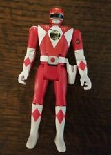 Bandai MIGHTY MORPHIN POWER RANGERS 1993 Red flip head Figure MMPR  works!