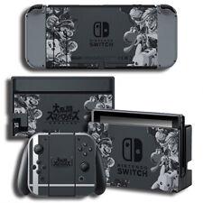 Super Smash Bros Nintendo Switch Joy-Con Dock Console Vinyl Skin Decals Stickers