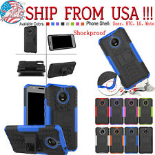 For LG HTC Sony Various Model Phone Case Cover Kickstand Protective Shockproof